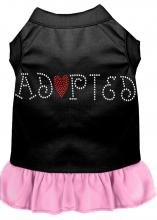 "Rhinestone ""Adopted"" Dress by Mirage"