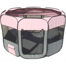 All-Terrain Lightweight Easy Folding Wire-Framed Collapsible Travel Pet Playpen