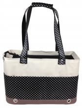 Pet Life Fashion Tote Polka Dot Pet Carrier