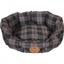 Wick-Away Anti-bacterial Round Dog Bed