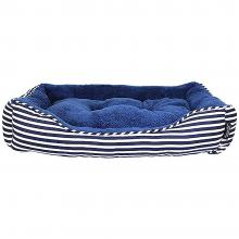 Ahoy Striped Dog Bed