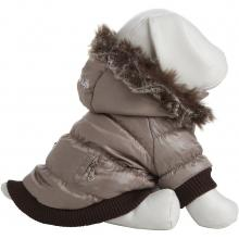 Pet Life Metallic Fashion Pet Parka Coat