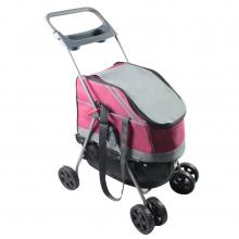 All-Surface All-In-One dog or cat Stroller and Car Seat Carrier