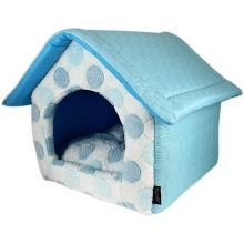 Cotton Candy Plush Dog House pet bed