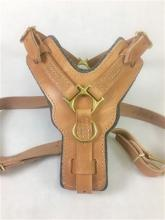 The Victory Leather Dog Harness