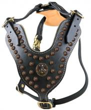 The Viking Leather Dog Harness