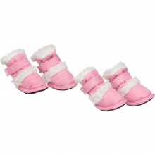 pet life Shearling Duggz Pet boots