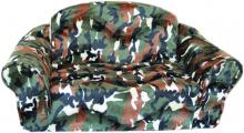 Camo Pull Out Sleeper Sofa Pet Bed