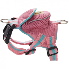 Pet Life Mesh Pet Harness With Pouch