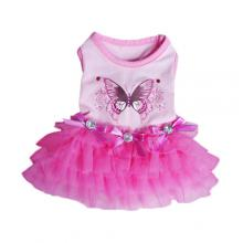 Butterfly dog Party Dress by Pooch Outfitters