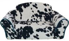 Cow Pull Out Sleeper Sofa Pet Bed