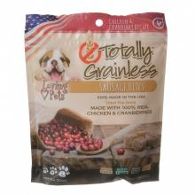 Loving Pets Totally Grainless Sausage Bites Chicken and Cranberries