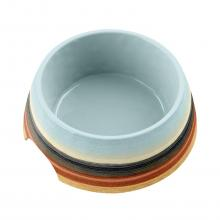 Desert Stripe Ombre Dog Bowl