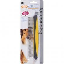 JW Pet JW Gripsoft Rotating Comfort Comb