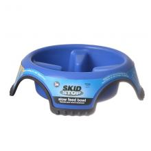 Skid-Stop Slow Feed Bowl