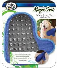 Four Paws Magic Coat Deluxe Love Glove with Tender Tips