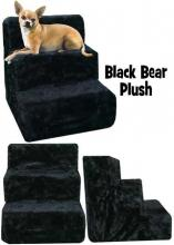 Black Bear Plush - pet stairs