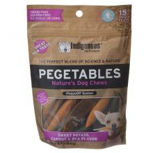 Pegetables Small Dog Chews Sweet Potato Carrot and Pea